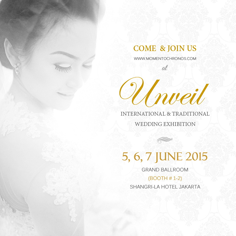 "Come and Join Us at ""Unveil"" Wedding Exhibition – Shangril-La Hotel Jakarta"